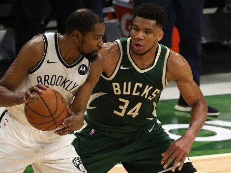 ¿Nets de Durant o Bucks de Giannis? El mejor equipo del Este según las predicciones