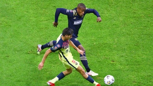 Club America won the first leg of the semifinal fixture with Philadelphia Union (Getty).