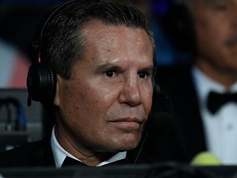 Julio César Chávez cargó con munición pesada contra Floyd Mayweather