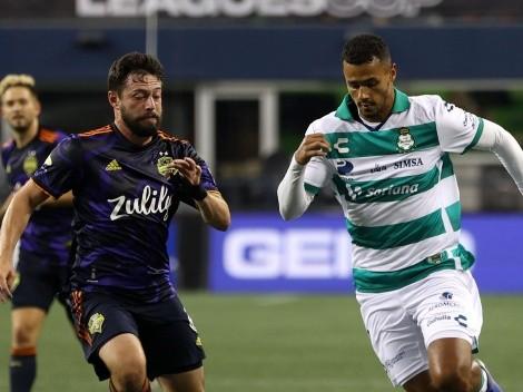 ¡Seattle finalista de la Leagues Cup! Eliminó a Santos con un gol agónico
