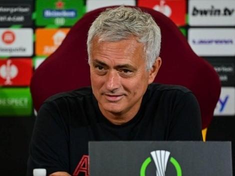 Mourinho confirma que la Roma irá por la Conference League