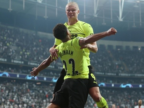 Champions: Borussia Dortmund debutó con triunfo ante Besiktas