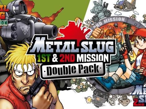Metal Slug 1st & 2nd Mission Double Pack é lançado para Nintendo Switch