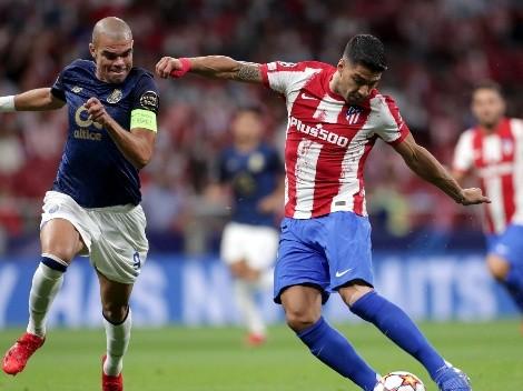 Mesmo com Griezmann, Atlético de Madrid fica no empate com o Porto
