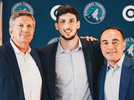 Más argentinos a la NBA: Leandro Bolmaro ya es parte de Minnesota Timberwolves