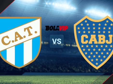 VER HOY Atlético Tucumán vs. Boca Juniors por la Liga Profesional EN VIVO: hora y canales de TV