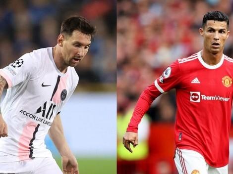 Messi o CR7: ¿Quién se vio mejor en su debut en Champions?