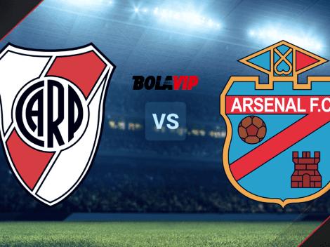 HOY | River Plate vs. Arsenal de Sarandí por la Liga Profesional: horario y TV para ver el partido EN VIVO