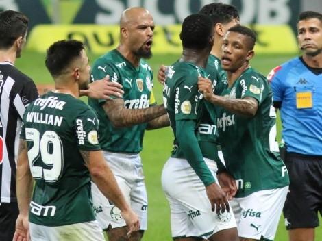CBF admite erro da arbitragem na expulsão de Patrick de Paula, do Palmeiras, diante do Atlético-MG