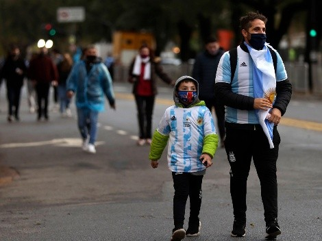 Reunión con el Gobierno suspendida: ¿Cuándo vuelve el público a la cancha en el fútbol argentino?