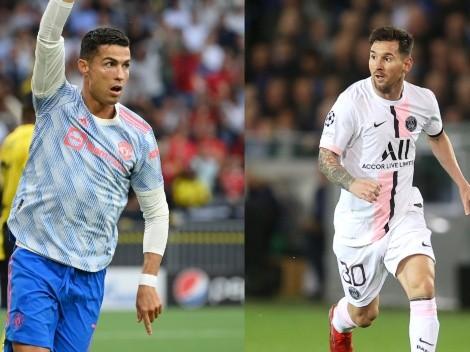 CR7 iguala uno de los principales récords de Messi en la Champions