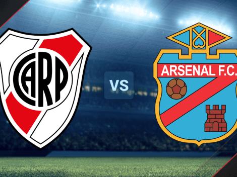 RESERVA   River Plate vs. Arsenal EN VIVO por el Torneo de Reserva: hora, TV y streaming ONLINE