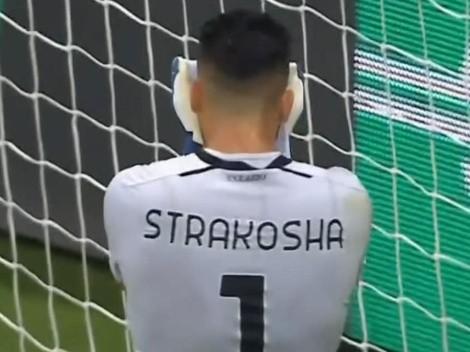 Strakosha protagoniza el gran blooper de la Europa League