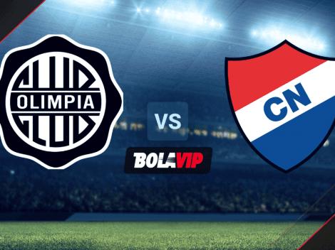Qué canal transmite Olimpia vs. Nacional por la Copa de Primera Tigo de Paraguay 2021