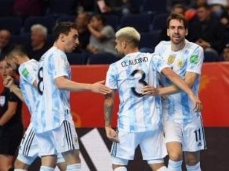 Qué canal transmite Argentina vs. Serbia por el Mundial de Futsal Lituania 2021