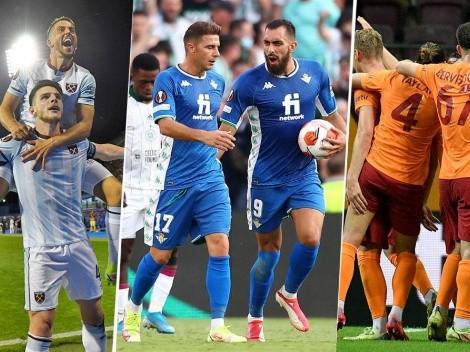 Europa League: primera fecha de la fase de grupos con resultados bien apretados