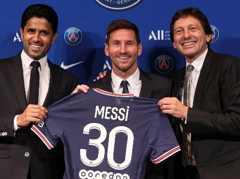 PSG entrou em contato com Lionel Messi em janeiro deste ano, diz Leonardo