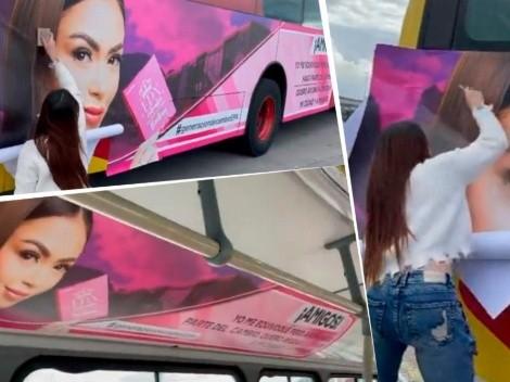 Video: Epa Colombia adornó todo un bus de Transmilenio con su imagen