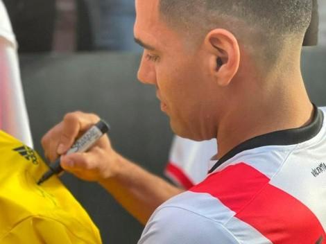 Esto cuesta la nueva camiseta de Radamel Falcao con el Rayo Vallecano