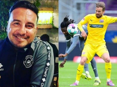 Cáceres se entusiasma con Santos en Colo Colo, pero tiene una duda