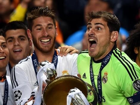 Iker Casillas explicó qué sintió con la salida de Sergio Ramos de Real Madrid