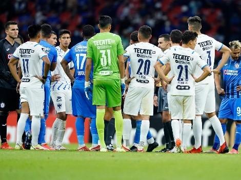 Cruz Azul vs. Rayados de Monterrey detenido por el grito homofóbico