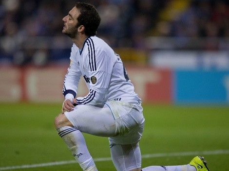 Higuaín confiesa su momento más duro en Real Madrid