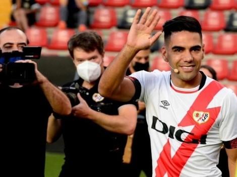 Falcao ya tiene su primera 'final' en Rayo