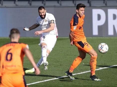 Los 11 para Valencia vs. Real Madrid