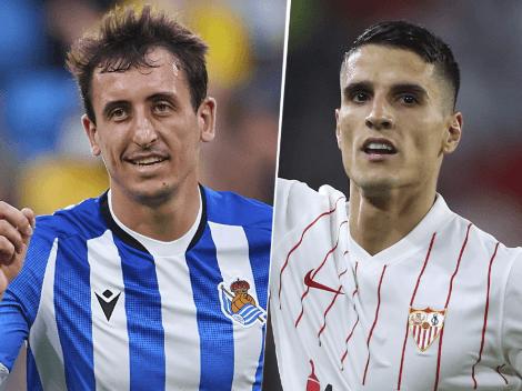 EN VIVO: Real Sociedad vs. Sevilla por La Liga