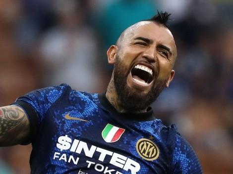 Arturo Vidal apunta a ser titular en el duelo del Inter en la Serie A