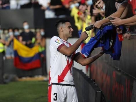 ¿Juega o no? Técnico del Rayo Vallecano habló sobre el posible debut de Falcao