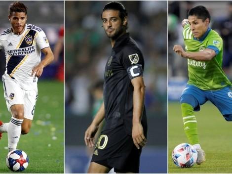 Cinco estrellas de MLS que terminan contrato al final de temporada 2021