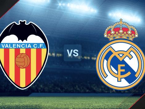 ¿Cómo ver HOY EN VIVO Valencia vs. Real Madrid? Hora y TV para mirar EN DIRECTO el partido de La Liga de España