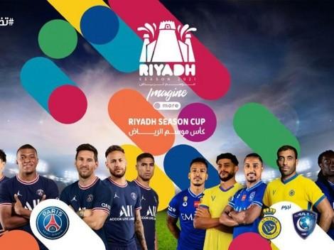 El PSG de Messi, Neymar y Mbappé jugará una exhibición ante estrellas de Al Hilal y Al Nassr