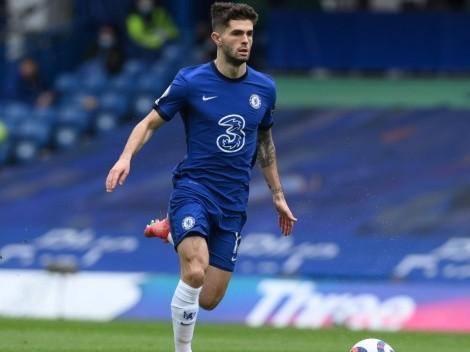 Christian Pulisic será baja otra vez en Chelsea por Premier League