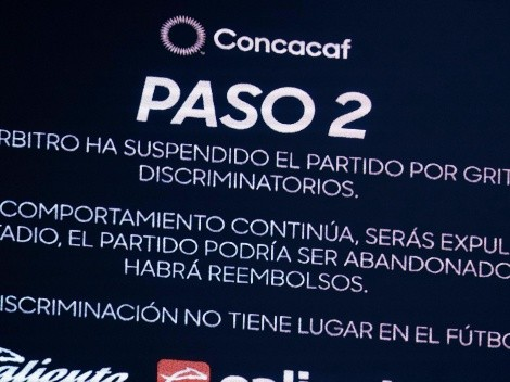 Concacaf y Liga MX refuerzan postura de cero tolerancia contra el grito discriminatorio