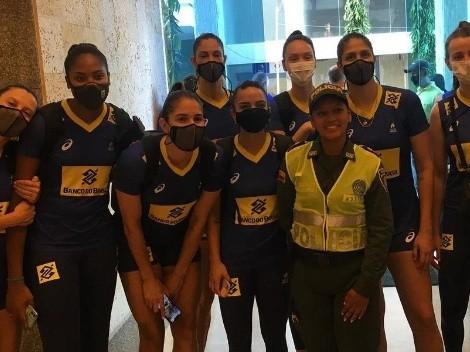 Brasil vence Argentina e continua invicto no Sul-Americano de vôlei feminino