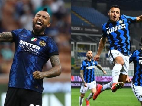 Vidal y Alexis en la convocatoria de Inter ante Bologna por Serie A