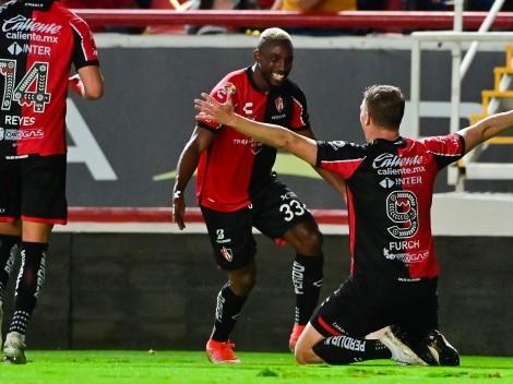 Julián Quiñones y Julio Furch se manifiestan con goles en el 2-0 de Atlas sobre Necaxa