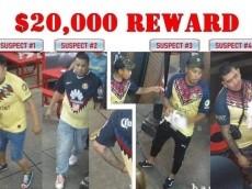 Difunden imagen de los responsables del crimen en Filadelfia