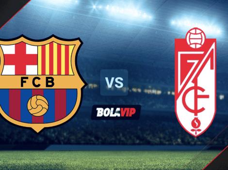 Barcelona vs. Granada: ¿cuándo, a qué hora y en qué canal ver EN DIRECTO el duelo por La Liga de España?