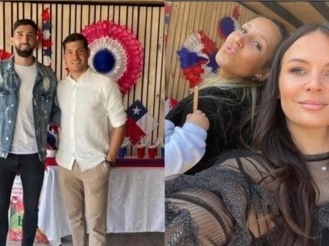 Emiliano Amor y Miiko Albornoz se juntan en el 18 para celebrar en familia