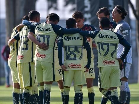 América Sub-18 vence a Toluca y venga a la Sub-20