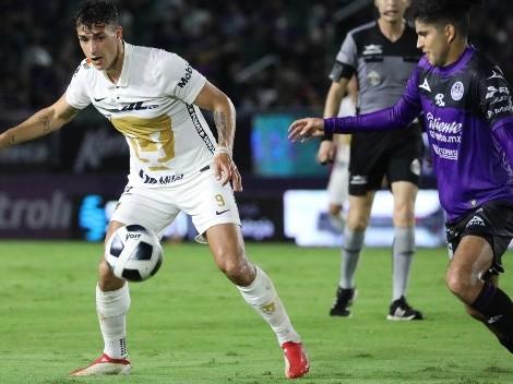 En un cruel final para Pumas, Mazatlán les arrancó el empate