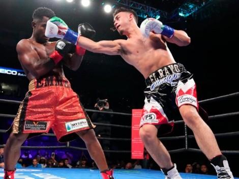 José Valenzuela cantó victoria y celebró sus 10 peleas invicto