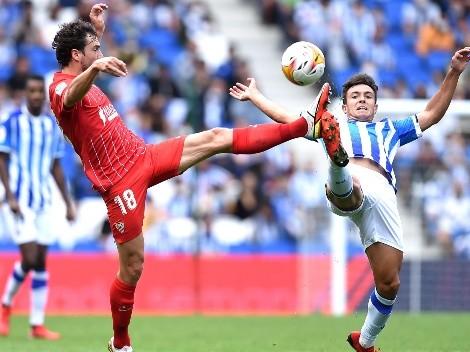 Empate silencioso entre Real Sociedad y Sevilla