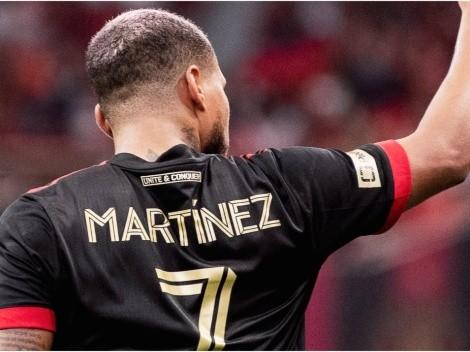 Así fue el golazo de Josef Martínez que despertó a Atlanta United