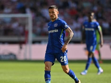 Leverkusen emplaza a la U por la camiseta de Charles Aránguiz