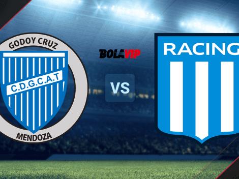 Cuándo juegan Godoy Cruz vs. Racing Club por la Copa Argentina: día, hora y canal de TV